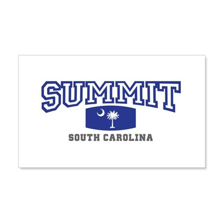 Summit South Carolina, SC, Palmetto State Flag 22x
