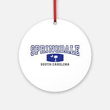 Springdale South Carolina, SC, Palmetto State Flag
