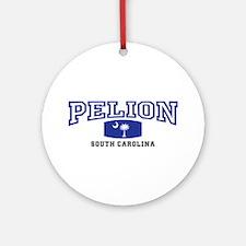 Pelion South Carolina, SC, Palmetto State Flag Orn