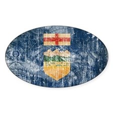 Alberta Flag Decal