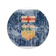 "Alberta Flag 3.5"" Button"