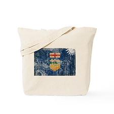 Alberta Flag Tote Bag