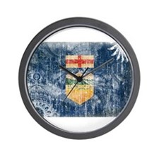 Alberta Flag Wall Clock