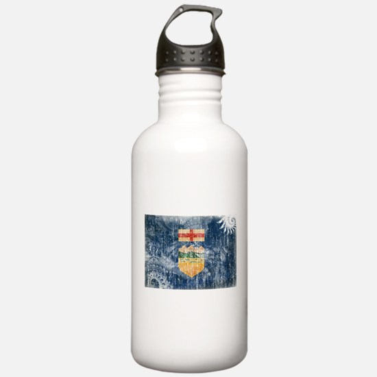 Alberta Flag Water Bottle