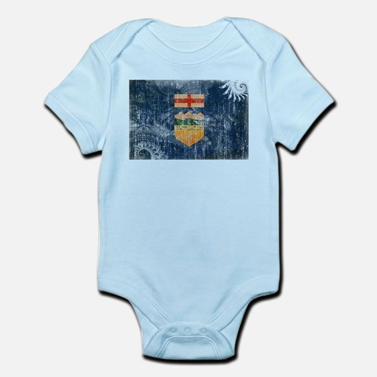 Alberta Flag Infant Bodysuit