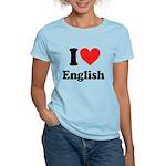 I Love English Women's Light T-Shirt