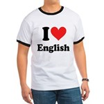 I Love English Ringer T