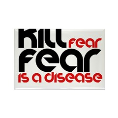 Kill Fear Rectangle Magnet (10 pack)