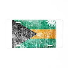 Bahamas Flag Aluminum License Plate