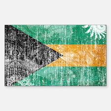 Bahamas Flag Decal
