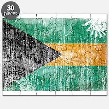Bahamas Flag Puzzle