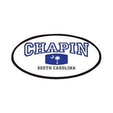 Chapin South Carolina, SC, Palmetto State Flag Pat