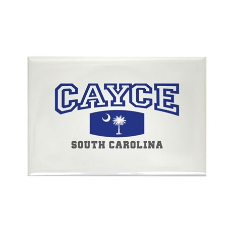 Cayce South Carolina, SC, Palmetto State Flag Rect