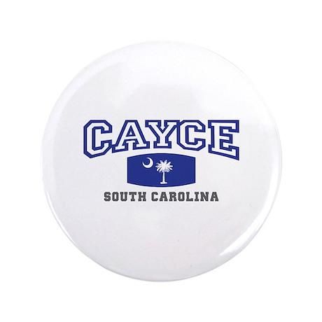 "Cayce South Carolina, SC, Palmetto State Flag 3.5"""