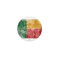 Benin Flag Mini Button