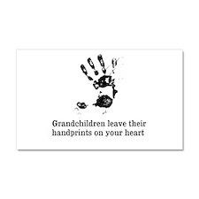 handprints Car Magnet 20 x 12