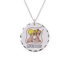 Take Care of You (blond) Necklace