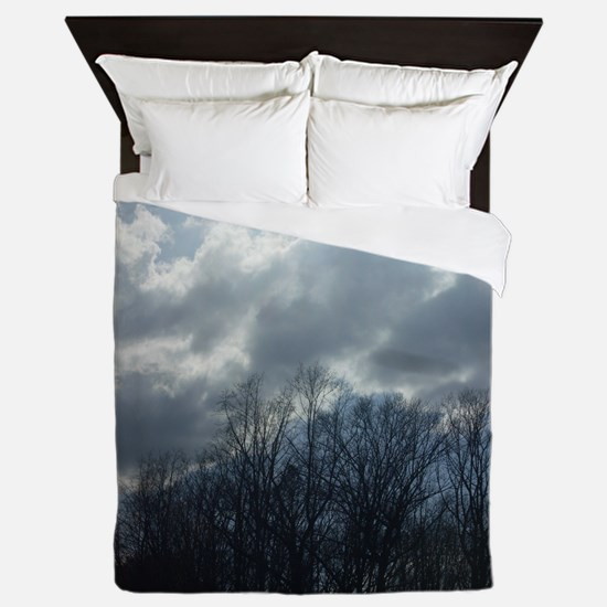 Shine Your light Queen Duvet