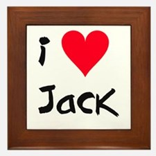 Jack - Framed Tile