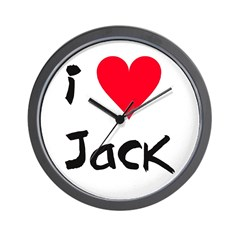 Jack - Wall Clock
