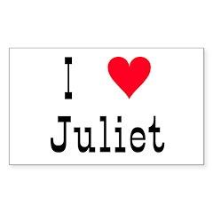Juliet Sticker (Rectangular)
