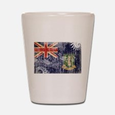 British Virgin Islands Flag Shot Glass