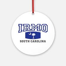 Irmo South Carolina, SC, Palmetto State Flag Ornam
