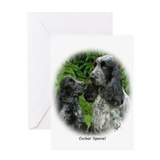 Cocker Spaniel 9W017D-95 Greeting Card