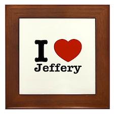 I love Jeffery Framed Tile