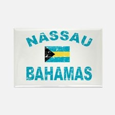 Nassau Bahamas designs Rectangle Magnet