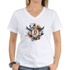Wings and Ribbon Leukemia Shirt