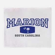 Marion South Carolina, SC, Palmetto State Flag St