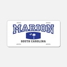 Marion South Carolina, SC, Palmetto State Flag Alu
