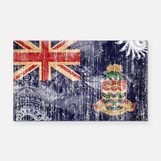 Cayman Islands Flag Rectangle Car Magnet