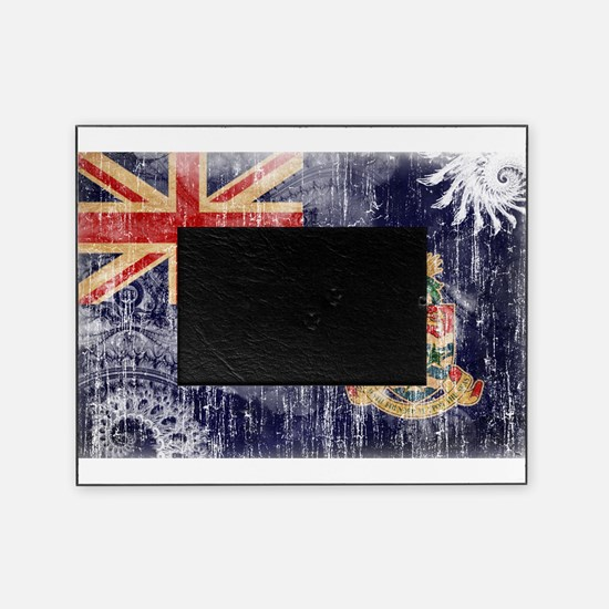 Cayman Islands Flag Picture Frame