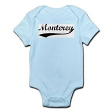 Monterey - Vintage Infant Creeper