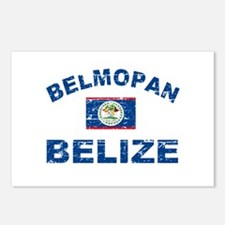 Belmopan Belize designs Postcards (Package of 8)
