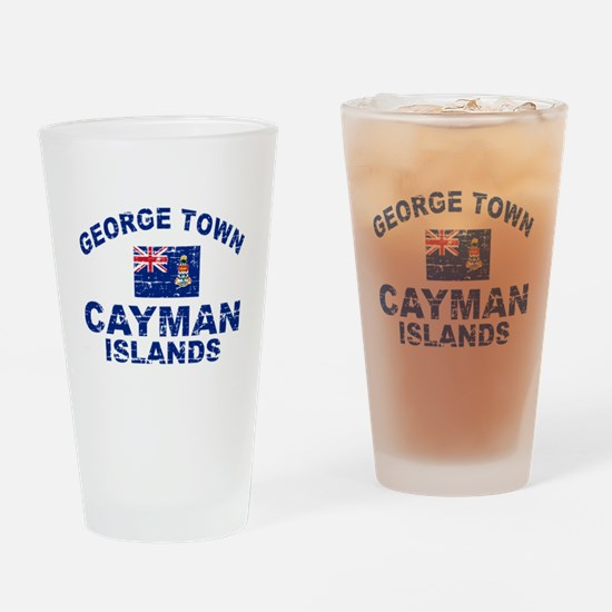 George Town Cayman Islands designs Drinking Glass