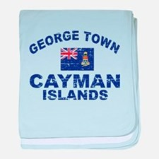 George Town Cayman Islands designs baby blanket
