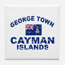 George Town Cayman Islands designs Tile Coaster