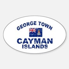 George Town Cayman Islands designs Decal