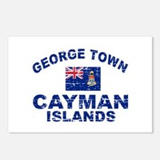 George Town Cayman Islands designs Postcards (Pack