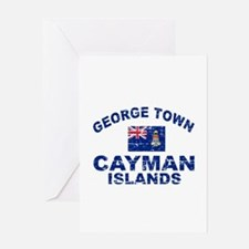 George Town Cayman Islands designs Greeting Card