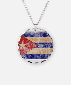Cuba Flag Necklace