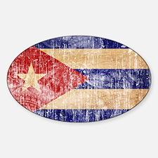 Cuba Flag Decal