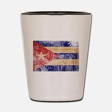 Cuba Flag Shot Glass