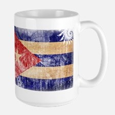 Cuba Flag Large Mug