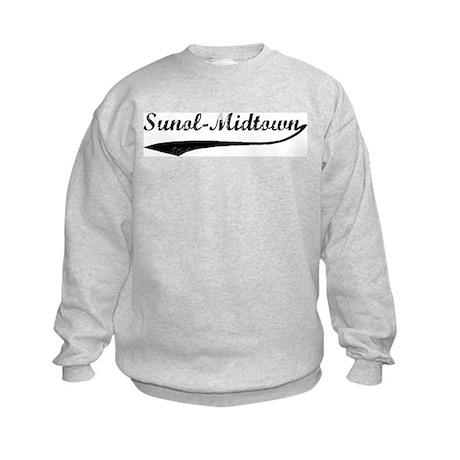 Sunol-Midtown - Vintage Kids Sweatshirt