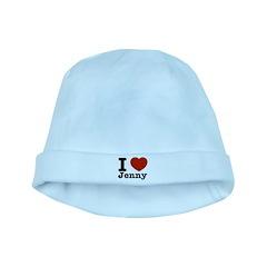 I love Jenny baby hat
