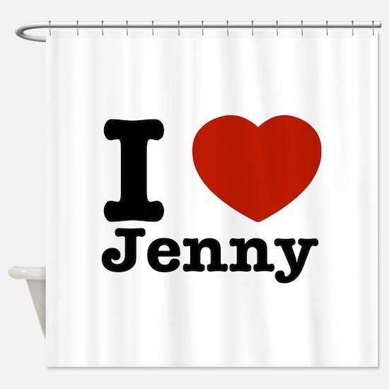 I love Jenny Shower Curtain
